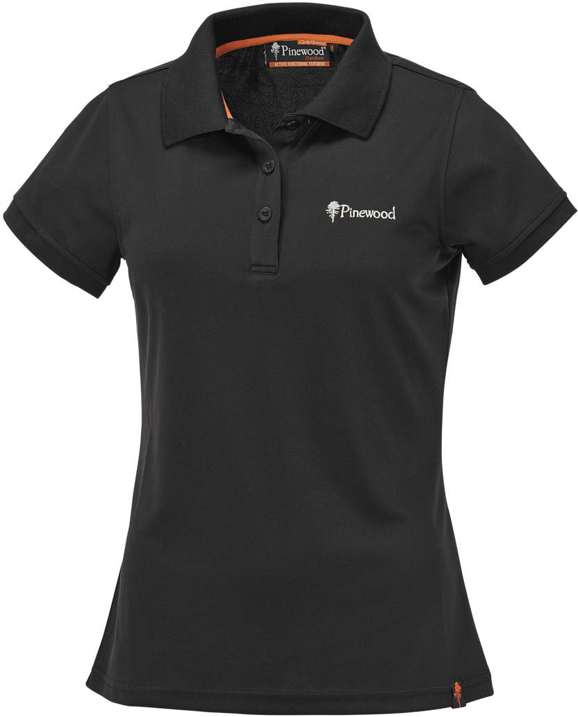 Polos Pinewood noirs homme Rozsf
